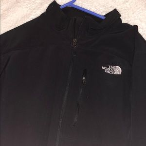 Men's North Face soft shell fleece lined jacket